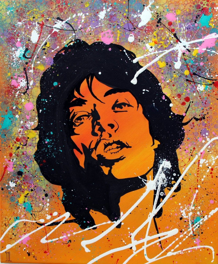 Mick Jagger by aquarelle-autrement